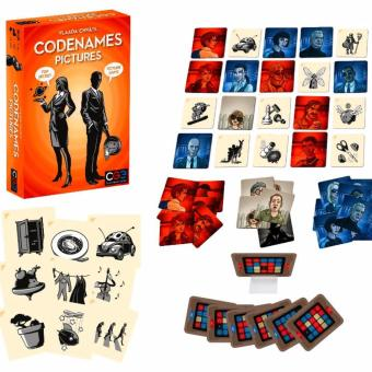CodeNames: Pictures Card Game Board Games