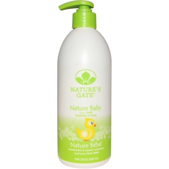 Harga Nature's Gate 2-in-1 Baby Shampoo/Body Wash 532ml (For Delicate Sensitive Skin, 100% natural vegan ingredients)