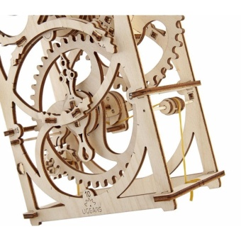 Ukrainian Gears Timer Mechanical 3D Puzzle Construction Set by Ugears - intl - 2