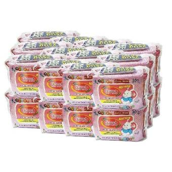 Harga PUREEN BABY WIPES (SCENTED - PINK) 2X30'S X 24 PACKS