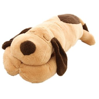 Harga Plush Toy Stuffed toys Lies Prone Dog Brown - Intl