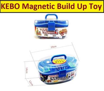 GenConnect 418pcs Kebo Magnetix Build Up Set