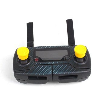 Harga 2Pcs Remote Control Rocker Protector Shell Cap For DJI Mavic Pro Yellow - intl