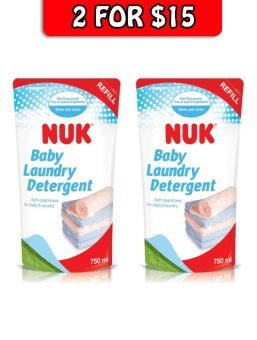 Harga Nuk Laundry Detergent Refill Twin Pack (750ml)