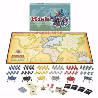 Harga RISK Board Game The Game of Global Domination English Edition for 2~6 Players - intl