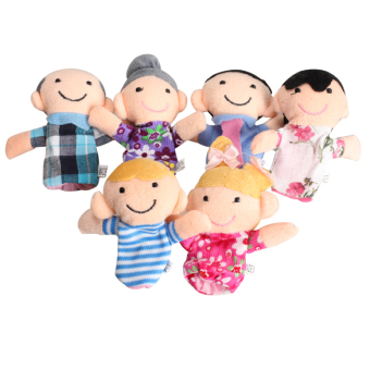 Harga Family Finger Puppets Cloth Doll