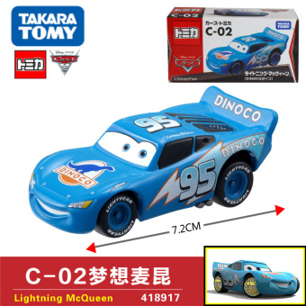 Harga Tomy alloy car models racing cars mcqueen c-02 dream 418917 boy toy
