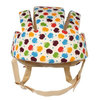 Adjustable Infant Baby Safety Helmet Kids Head Protection Caps Hat for Walking Crawling (Multi-color) - intl - 3