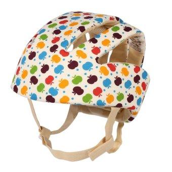 Adjustable Infant Baby Safety Helmet Kids Head Protection Caps Hat for Walking Crawling (Multi-color) - intl - 4