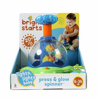 Harga Bright Starts Glow Spinner Baby Toy