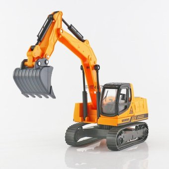 Harga Kaidi wei crawler excavator alloy model toy children's toys metal car engineering car model excavator