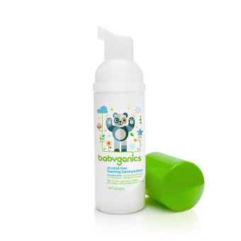 Harga Babyganics Hand Sanitizer 50ml Fragrance Free