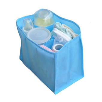 Bluelans Mother Bag Large Travel Nappy Bag For Storage Baby Diaper Nappies Blue Size M - 2