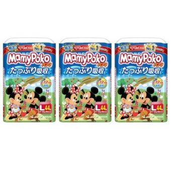 MamyPoko L Pants Limited Edition (9 - 14kg) 44 Pieces x 3 packs