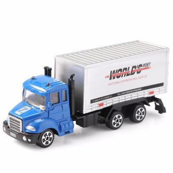 Harga THE NORTH E HOME Alloy 1:64 Scale Container Truck Toy - intl