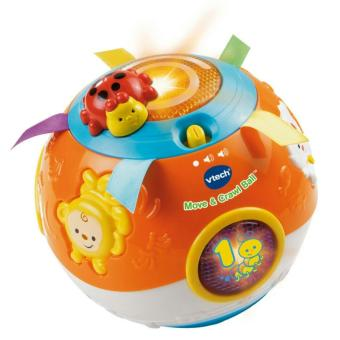 Harga VTech Move and Crawl Baby Ball (Orange)