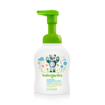 Harga Babyganics Hand Sanitizer 250ml Fragrance Free