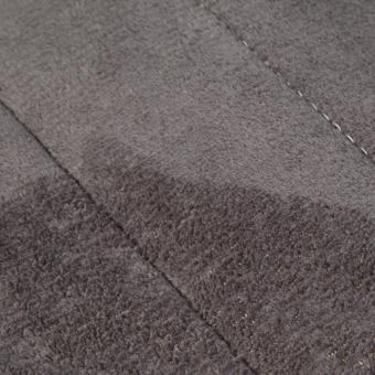 Memory Foam Bath Mats Bathroom Horizontal Stripes Rug Non-slip (Dark Grey) - 5