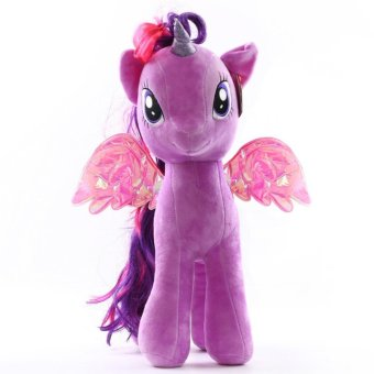 Harga My Little Pony pony Baoli rainbow plush toy doll(purple) - intl