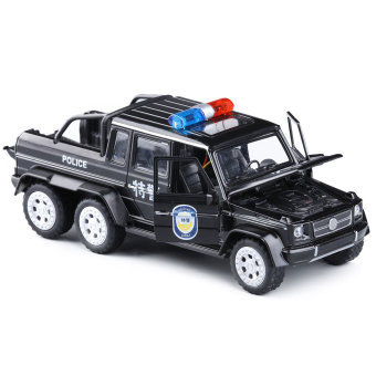 Harga Sound and light pickup Special Police alloy car