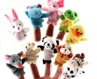 Harga Buytra Animal Finger Doll Puppet Plush 10pcs