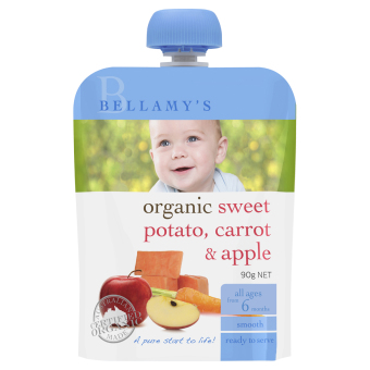 Harga Bellamy's Organic Organic Sweet Potato, Carrot & Apple