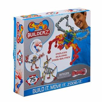 Harga ZOOB 75 Piece Building Set Interlocking Construction Bricks Set