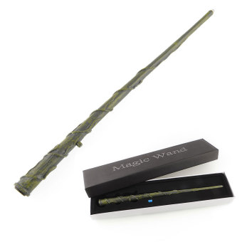 Harga 2015 Harry Potter Hermione LED Light UP Mediumistic Replica Magic Wand In Box