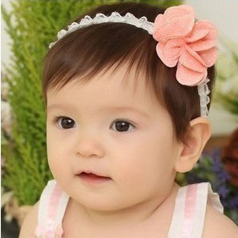 Lace baby headband hair with baby hair band