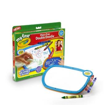 Harga Crayola My First No Mess Double Doodle Wipe Away Coloring Board