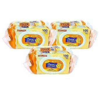 Harga PUREEN BABY WIPES (FRAGRANCE FREE) 2X100'S X 3 PACKS
