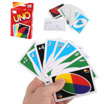 Harga Standard Fun w/108 UNO Playing Cards Game For Travel Family Friend Instruction