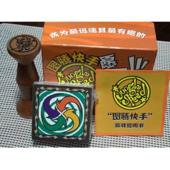 Jungle Speed Board Game For 2-8 Player Board Game Train Observation And Response Capability Party Family Game - intl
