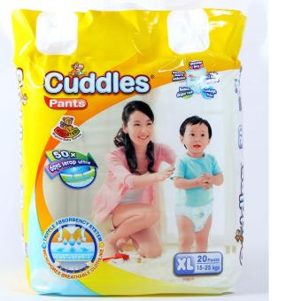 Harga Economical Baby Diapers Triple Absorbency - XL (TWIN PACK)