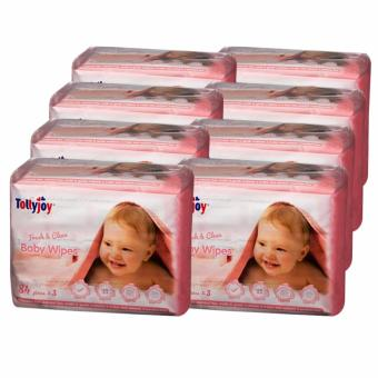 Harga Tollyjoy Fresh and Clean Baby Wet Wipes 84's (24packs) CARTON DEAL