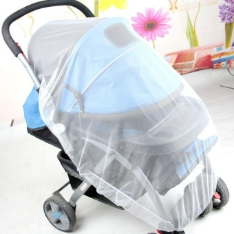 Harga Mosquito Net Stroller Infants Baby Safe Mesh White Bee Insect Bug Cover - intl