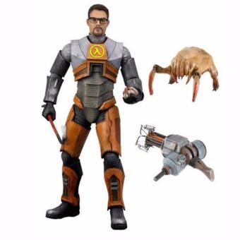 "Harga NECA Half-Life 2 Videogame Dr Gordon Freeman gravity Weapon Model 7"" Figure Gift - intl"