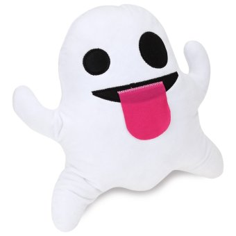 Harga Smiley Ghost Stuffed Emoticon Plush Pillow Toy Cute Doll - intl