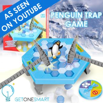 Harga As Seen on YOUTUBE!! Penguin Trap Game | Break the ice | Save the Penguin | READY STOCKS!