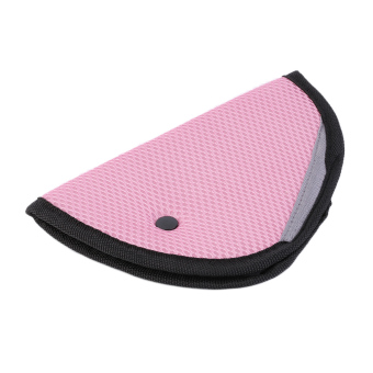 Harga Allwin Car Kids Baby Safety Shoulder Harness Strap Adjuster Kids Seat Belt Clip Pad Pink