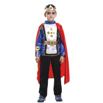 Ciao Cartoon William Prince Costume Children Gift Cosplay Cloth - S