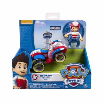 Harga Paw Patrol - Ryder's Rescue ATV, Vehicle and Figure (works with Paw Patroller)