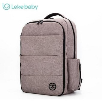 LEKEBABY 2017 Update High Capacity Splashproof Diaper Backpack - intl