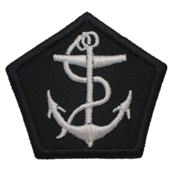 Anchor cap levy/fabric sticker/clothing stickers/embroidered standard/stickers