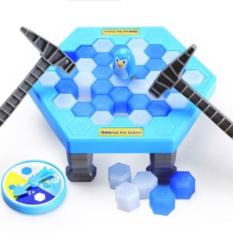 Harga Interactive Table Desktop Game Breaking Ice Cube Block Pounding Save Penguin Puzzle Toys - intl