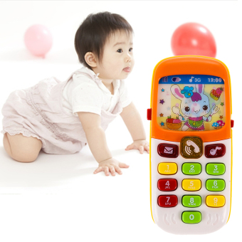 Harga Electronic Toy Phone Kid Mobile Phone Cellphone Telephone Educational Toys