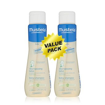 Harga Mustela Gentle Baby Shampoo 200ml Twin Pack