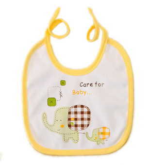 Harga Jetting Buy Cartoon Bibs Cute Baby Waterproof Animal Yellow - intl