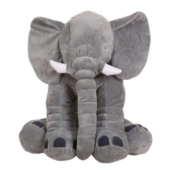 Harga Infant Soft Appease Elephant Playmate Calm Doll Baby Toys Pillow Plush Stuffed Gray S