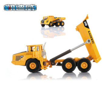 Harga Kaidi wei 620007 alloy engineering car model 1: 87 articulated dump truck factory simulation model cars